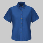 Women's Poplin Dress Shirt Extended Sizes