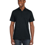 Men's Jersey Short-Sleeve Five-Button Polo
