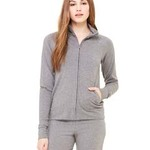 Ladies' Cotton/Spandex Cadet Jacket