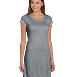 Ladies' Vintage Jersey Short-Sleeve T-Shirt Dress