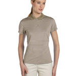 Ladies' ClimaLite® Classic Stripe Short-Sleeve Polo