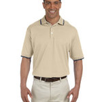 Men's Tipped Perfect Pima Interlock Polo