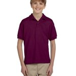 DryBlend™ Youth 5.6 oz., 50/50 Jersey Polo