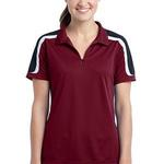 Ladies Tricolor Shoulder Micropique Sport Wick ® Polo