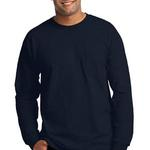 Ultra Cotton ® 100% Cotton Long Sleeve T Shirt with Pocket