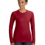 Ladies' Junior Fit Ringspun Long-Sleeve T-Shirt
