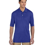 Men's 4.1 oz., 100% Polyester Micro Pointelle Mesh SPORT with Moisture-Wicking Polo