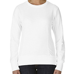 Ladies' Ringspun French Terry Mid-Scoop Sweatshirt