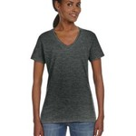 Ladies' Ringspun V-Neck T-Shirt