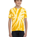 Youth 5.4 oz., 100% Cotton Twist Tie-Dyed T-Shirt