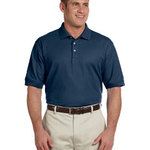 Men's Tall Pima Piqué Short-Sleeve Polo