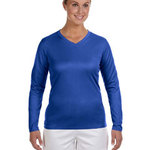 Ladies' Ndurance® Athletic Long-Sleeve V-Neck T-Shirt