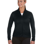 Ladies' 5.4 oz. Performance Colorblock Full-Zip Jacket