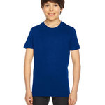 Youth Poly-Cotton Short-Sleeve Crewneck