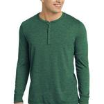 Young Mens Gravel 50/50 Long Sleeve Henley Tee