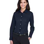 Ladies' Crown Woven Collection™ Solid Stretch Twill