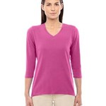 Ladies' Perfect Fit™ Bracelet-Length V-Neck Top