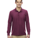 Dryblend Double Pique Long-Sleeve Polo