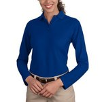 Ladies Long Sleeve Silk Touch™ Polo
