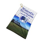 "11"" X 18"" WHITE GOLF TOWEL"