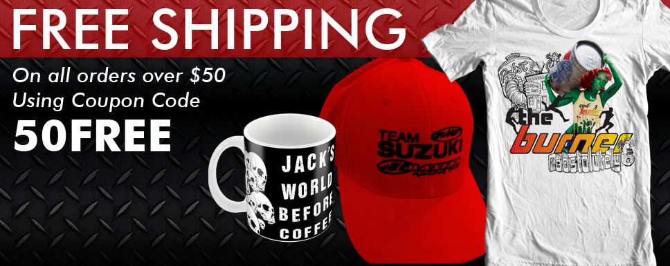 Free Shipping on all orders over $50 using coupon code 50FREE
